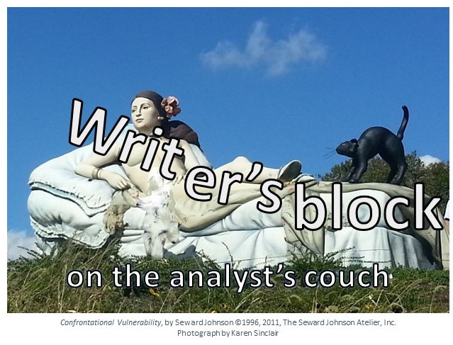 Writer's Block on the Analyst's Couch -Part 1