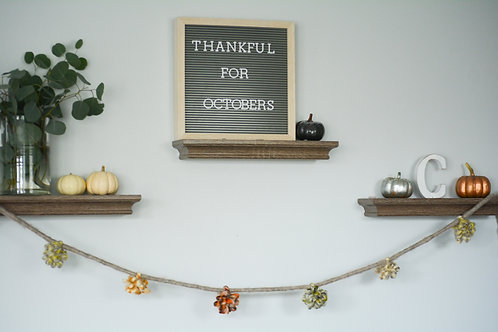 Holiday PomPom Garland