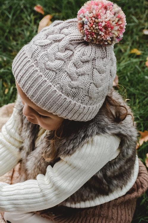 The Harvest Pom Hat