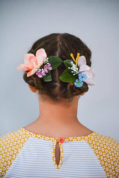 Magnolia Bouquet Pony/Bracelet Set
