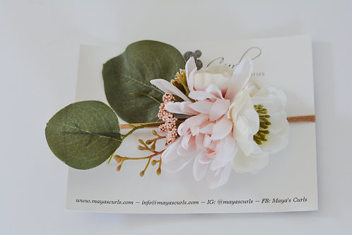 Baby Eucalyptus Bouquet Band