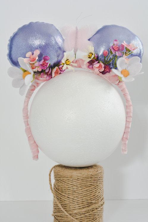 Minnie's Flower Crown Ears Band