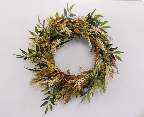 Custom Fall Wreath