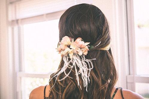 Blooms of Blush Bridal Headpiece