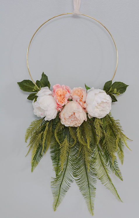Floral & Fern DreamCatcher