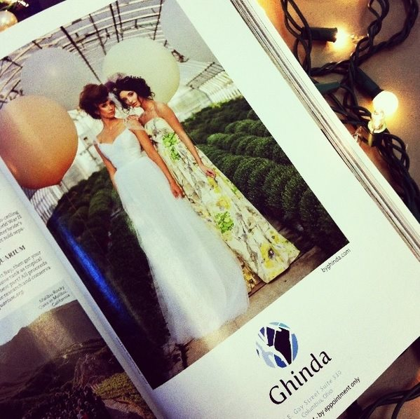 Ghinda Bridal Editorial
