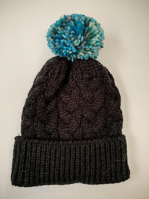 Size 0-3yrs Blueberry Love Pom Hat