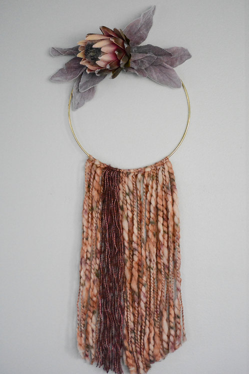 The Plum/Blush Floral Hanging