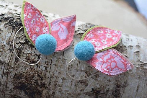 The Petal Leaves Ponytail/Bracelet Set