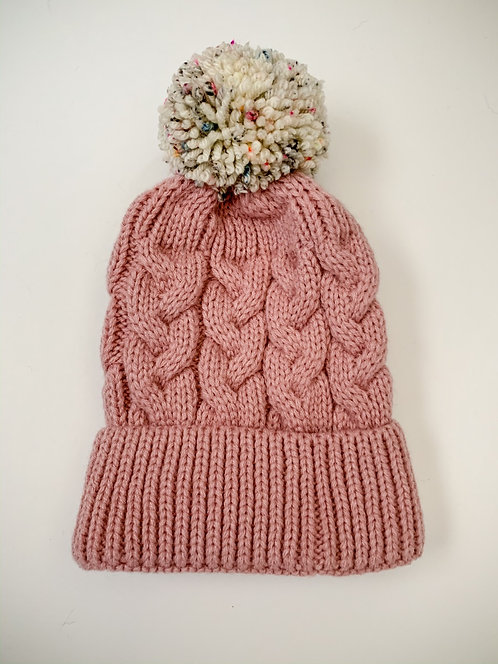 Size 0-3yrs Sprinkles Pom Hat