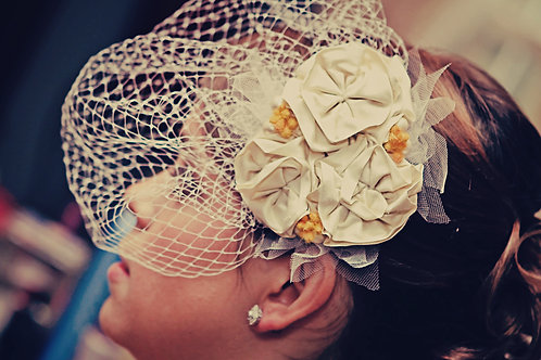 The Kaitlyn Floral Fascinator