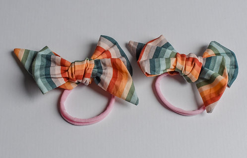 Rainbow Dreams in Sunset Bow