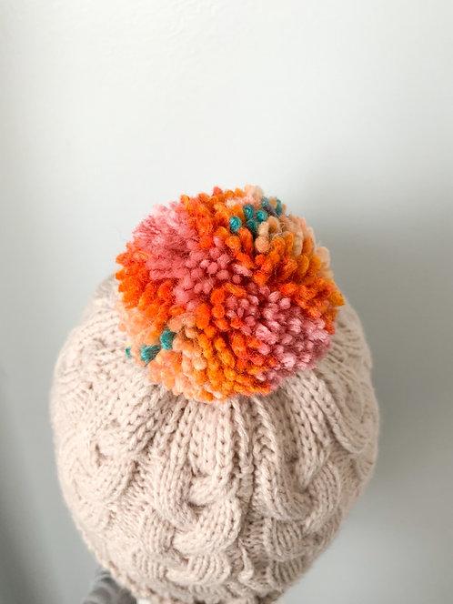 Size 0-3yrs SpringFETTI Pom Hat