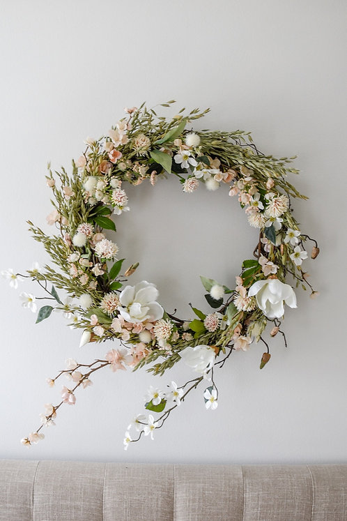 Spring is in the Air Wreath