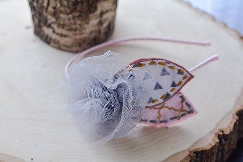 The Tulle Flower Petal Headband
