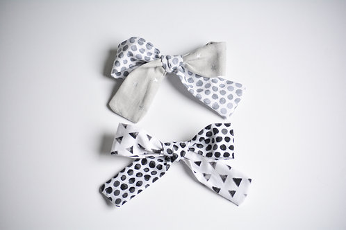 "Monochrome ""Mix It Up"" Bow Set"