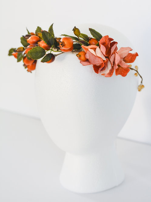The Harvest Berry Floral Crown