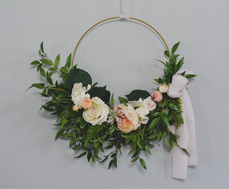 "Design your own 18"" Modern Wreath"