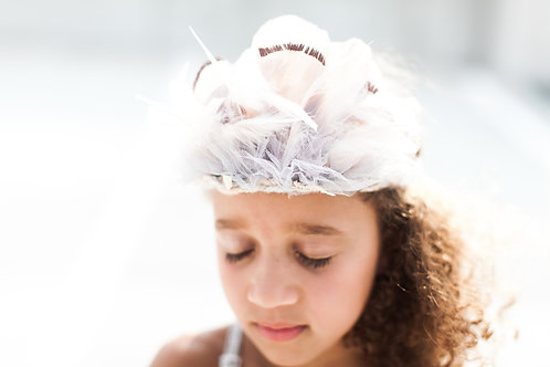 The Quinn Feather Crown