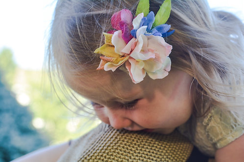 The Bouquet Flower Clip