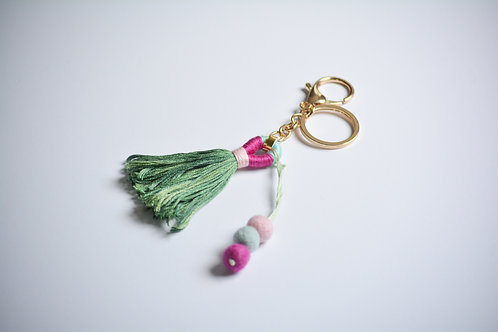 Tassel Backpack Charm/Keyring