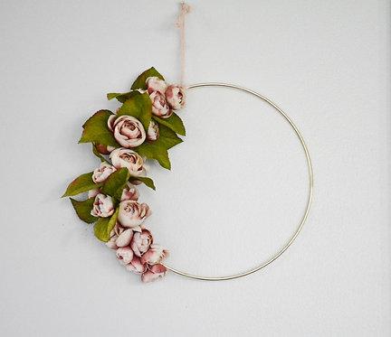 Ranunculus Love Floral Wall Ring