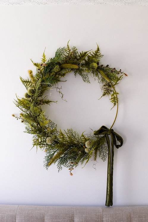 Into the Mossy Forest Wreath