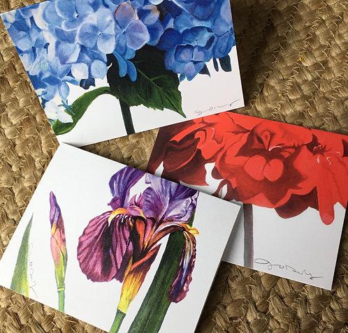 Botanical Floral Notecards