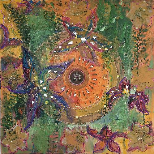 Healing Wounds Mandala Original