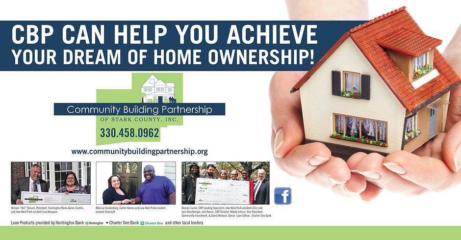 Community Building Partnership - Home Ownership Advertisement