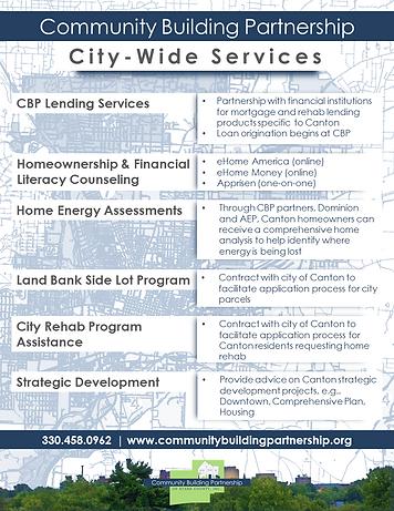 Community Building Partnership - City Wide Services
