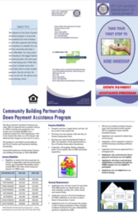 Down Payment Assistance Program Brochure