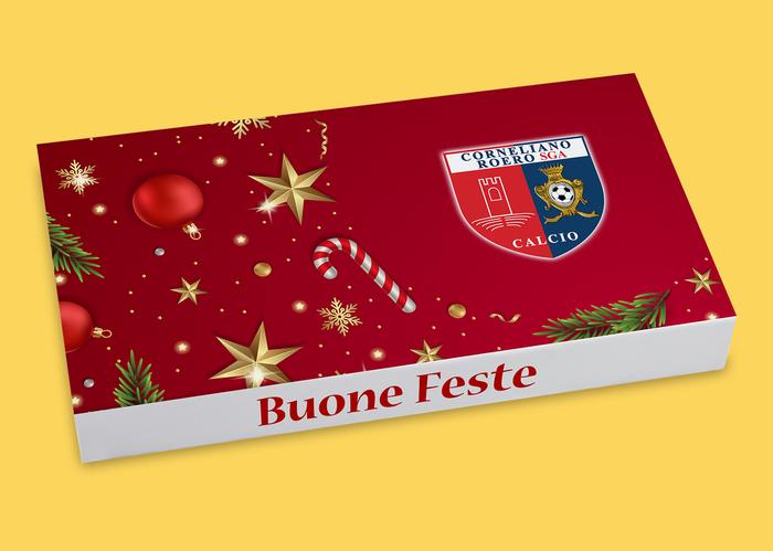 cookies in scatola personalizzata con logo aziendale Roma