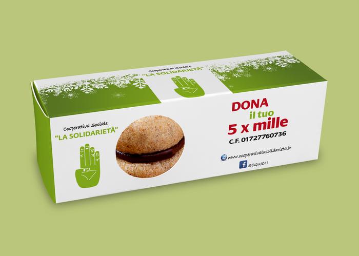 biscotti personalizzati con marchio Torino per regalistica aziendale
