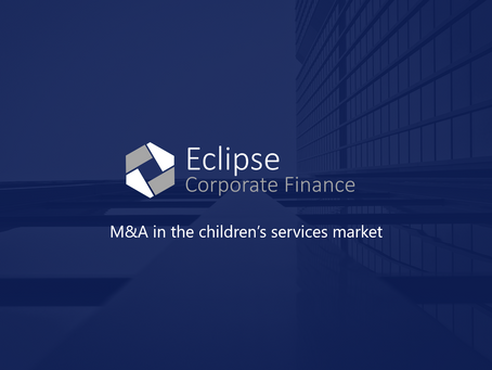 M&A in the children's services sector