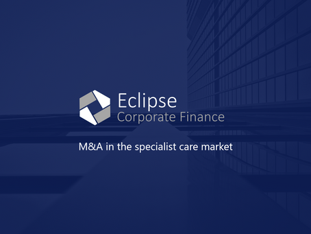 M&A in the specialist care market