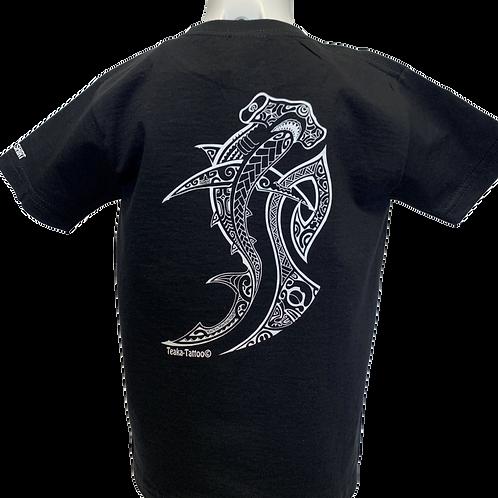 Réf: TGnoir01   Tee-shirt garçon REQUIN