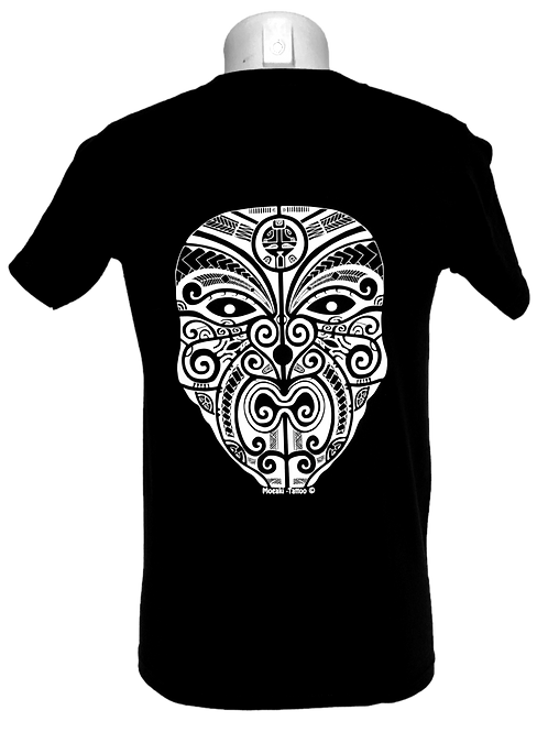 Réf : TH11  Tee-shirt homme  VISAGE TATTOO