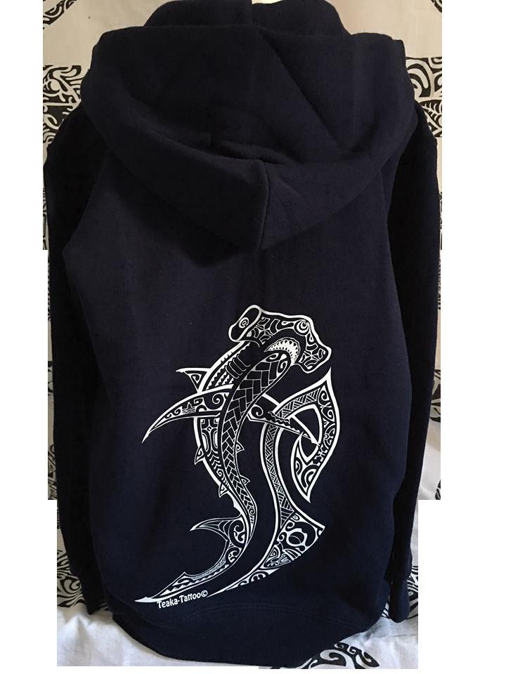 Veste requin bleue 1