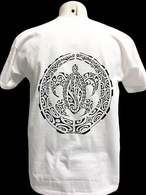 Réf : THblanc02  Tee-shirt homme  TORTUE