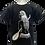 Thumbnail: Réf: TFnoir 01 Tee Shirt Vahiné - Fille