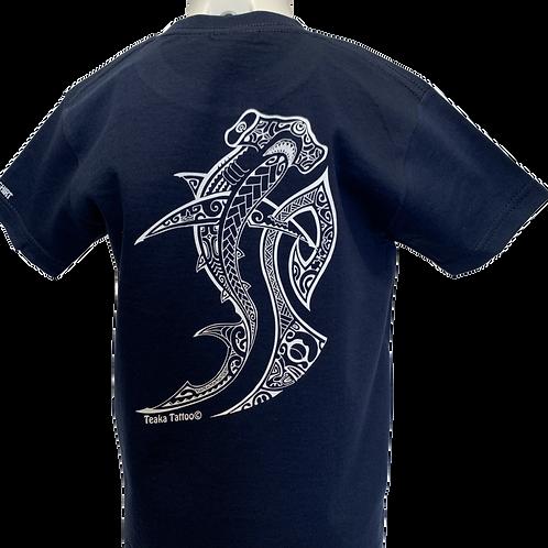 Réf: TGbleu01   Tee-shirt garçon REQUIN