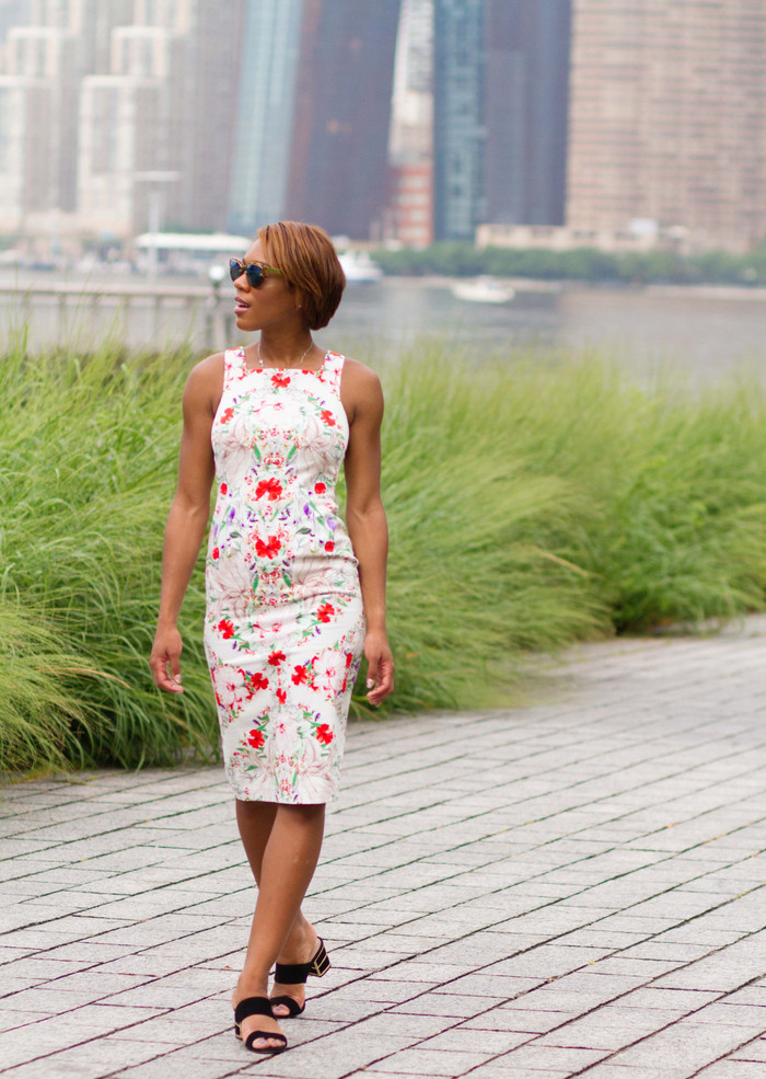Maggy London Slays! Another Killer Sheath Print Dress