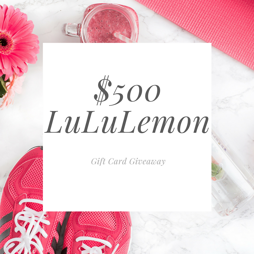 LuluLemon Giveaway