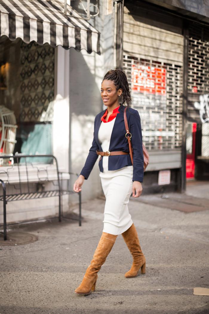 Winter Fashion: So Many Ways to Style a Midi Ribbed Dress!