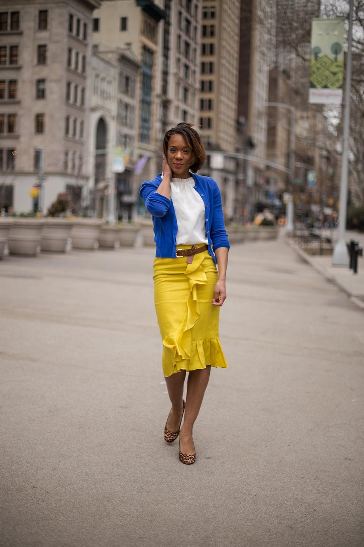 Neve Linen Skirt and Effie Silk Top
