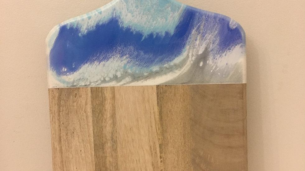 Cheeseboard in beach colours