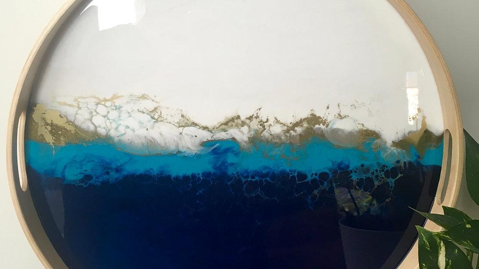 Large 'Ocean' Tray