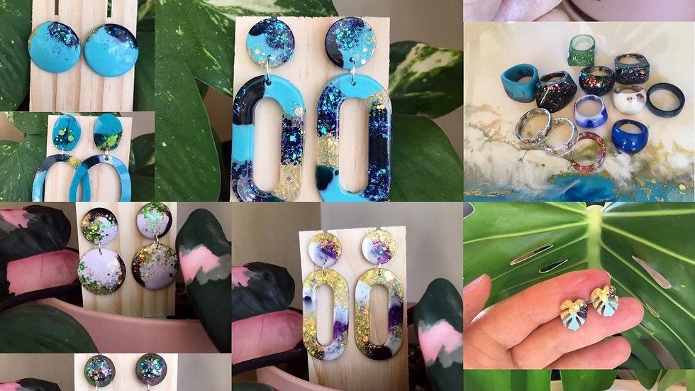 5&7JUN2021 Resin Jewellery Workshop