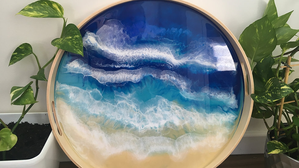 4thOct2020 Resin Tray & Geode Coaster Workshop
